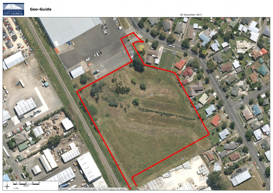 2.0ha Development Site, Kaimanawa Street, Palmerston North