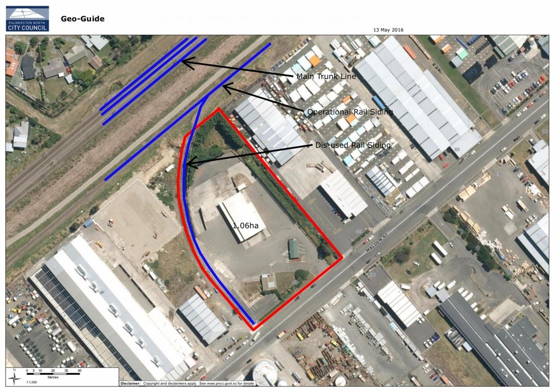 1.0ha Development Site, Malden Street, Palmerston North