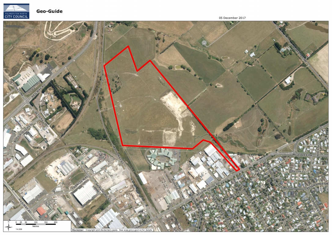 15.4ha Industrial Land, Kelvin Grove Road, Palmerston North