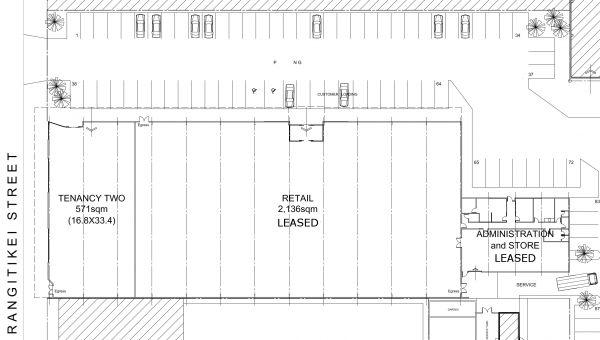 Bulk-Retail Development, 150 Rangitikei Street, Palmerston North