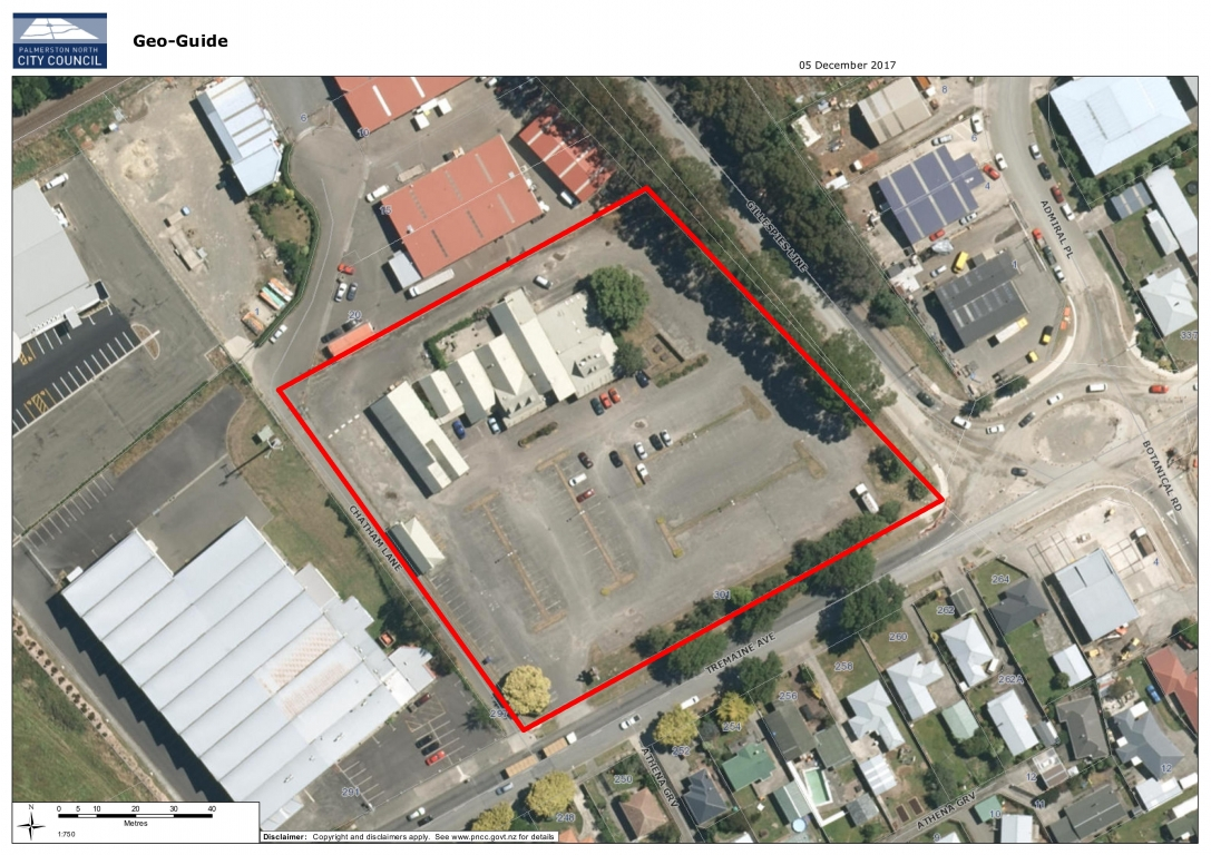1.2ha Development Site, 301 Tremaine Avenue, Palmerston North
