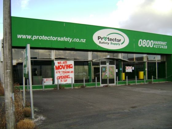Retail Showroom/Workshops, 459 Rangitikei Street, Palmerston North